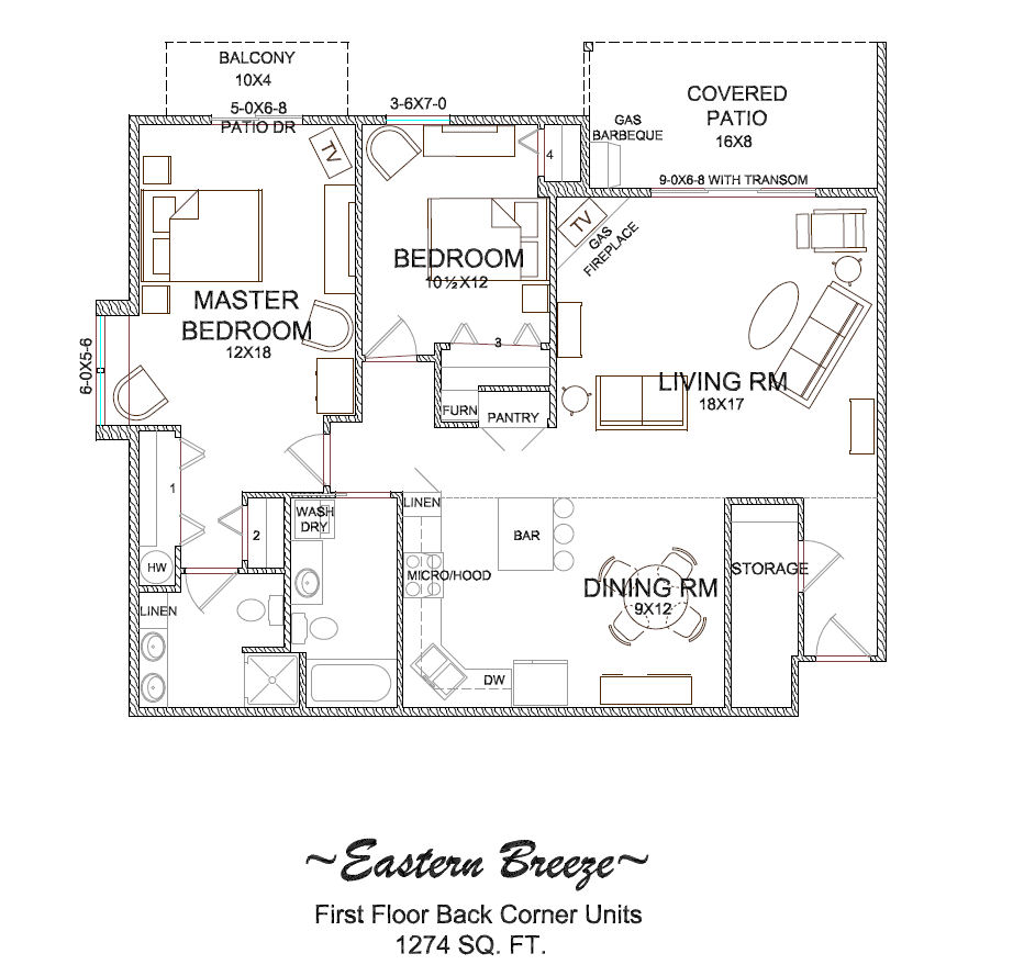 Floor plans of condos for rent or lease in longview wa for Condo blueprints